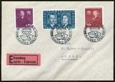 Liechtenstein Nr. 211-213 auf Satz-Eilboten-Brief SCHAAN 7.3.43 (69353)