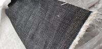 Denim Fabric Ring Spun 8oz Rigid Jeans Material 100% Cotton Black or Indigo UK