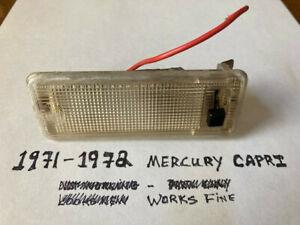 "1971-1972 Mercury Capri ""Dome Light"""