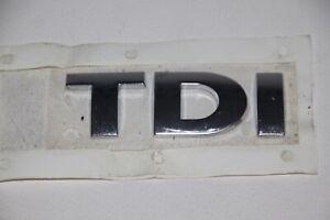 VW Golf IV, Touran Schriftzug TDI chrom NEU, original Emblem, Logo 3B0 853 675 D