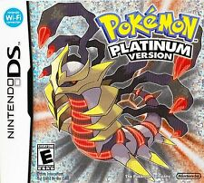 POKEMON PLATINUM SEALED NEW DS LITE 3DS 2DS FREE 1ST CLASS DELIVERY UK SELLER