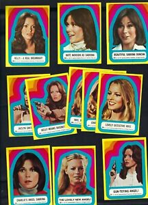 1977 TOPPS CHARLIES ANGELS 3RD SERIES STICKER COMPLETE SET NO.S 23-33