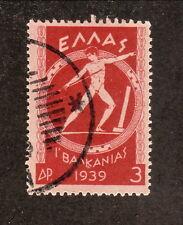 Greece--#423 Used--Pan-Balkan Games--1939