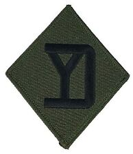US Army 26th Infantry Division ID Patch Yankee Massachusetts National Guard Vet