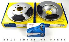 FRONT AXLE BRAKE SET DISCS AND PADS FOR TOYOTA COMLINE ADB3582 ADC0193V