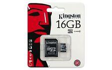 16GB Kingston Micro SD Genuine Memory Card for Sony Xperia L1 Phone