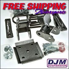 "2004 - 2008  Ford F-150 4"" Complete rear lowering kit by DJM"