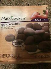 Nutrisystem DESSERT 7 bags Nutrichocolates YUM chocolate candy snack ***READ**