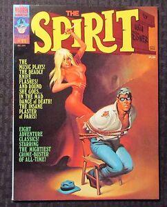 1975 THE SPIRIT Warren Magazine #11 FVF 7.0 Author F. Paul Wilson FPW Collection