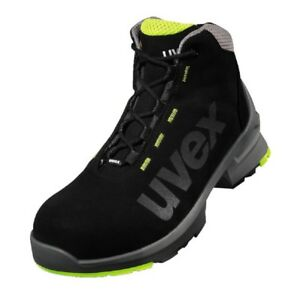 uvex Safety Boots 100% Metal-Free Airport Safe ESD Rated Microsuede Upper S2 SRC