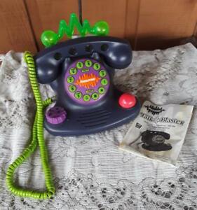 Vintage 1990s Nickelodeon Talk Blaster Telephone Land Line retro phone