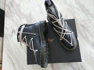 Doc Martens x Rick Owens 1460 Bex Leather Boot Black Size EU45 US11 UK10