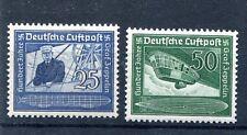 GERMANY 3rd REICH 1938 GRAAF VON ZEPPELIN 100 YEARS SCOTT C59-C60 PERFECT MNH