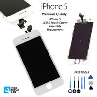 Replacement Retina LCD & Digitiser Touch Screen Digitiser FOR iPhone 5 - WHITE