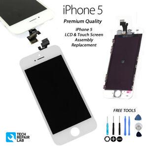 iPhone 5 Replacement Retina LCD & Digitiser Touch Screen Digitiser - WHITE