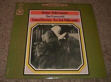 Brahms Violin Concerto Francescatti Bernstein~Original Inner~1963 Classical~FAST