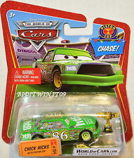 DISNEY PIXAR THE WORLD OF CARS 2009 PISTON CUP CHASE CHICK HICKS #104