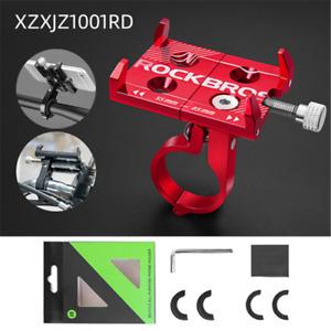 ROCKBROS Universal Bike Handlebar Phone Mount Stand Holder Bracket Adjustable