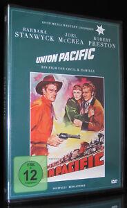 DVD WESTERN LEGENDEN 4 - UNION PACIFIC - BARBARA STANWYCK + JOEL McCREA * NEU *