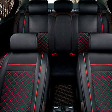 Breathable PU Leather Soft Texture Car Seat Covers Neck Lumber Pillows Top Sale