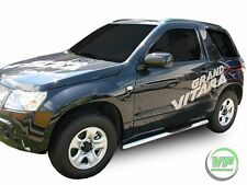 Suzuki Grand Vitara mk2 3 door Side bars CHROME stainless steel side step