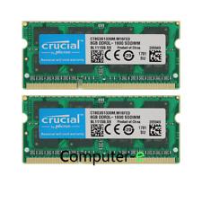 16GB KIT 2X8GB iMac Late 2012 Macbook Pro Mid 2012 A1418 MD094LL/A Memory Ram