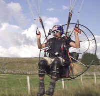 PARAMOTOR - BlackHawk AirMax 220 Powered Paraglider WITH Kestrel PPG Frame