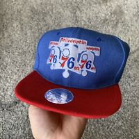 Mitchell & Ness NBA Philadelphia 76ers Basketball Snapback Hat