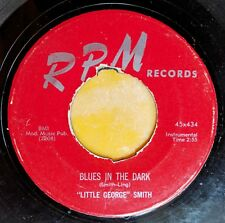 BLUES HARMONICA 45: LITTLE GEORGE SMITH Telephone Blues/Blues in the Dark RPM