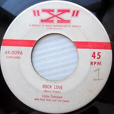 EDDIE FONTAINE R&B JIVER 45 ROCK LOVE b/w ALL MY LOVE BELONGS TO YOU H104