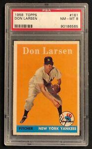 1958 Topps Don Larsen PSA 8