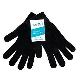 Genuine Merino Wool and Possum Gloves - Unisex - Made in New Zealand, Ultra-Warm