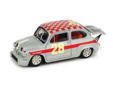 Fiat Abarth 1000 Berlina 4ore di Monza 1966  1/43 R369B Brumm Made in Italy