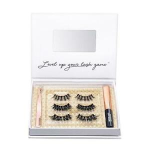 MOXIELASH HOLIDAY GLAM KIT Magnetic Lash Eyelash Kit Moxie New UK Seller