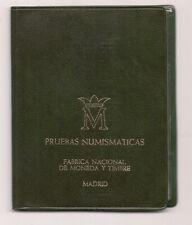 1975 Spanish Coin set Pruebas Numismatics Madrid