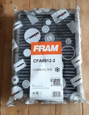 Cabin Pollen Filters (pair) CFA8912-2 Fits BMW 5 Series