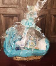 NewBorn Baby Boy Hamper Basket  - Gift hamper