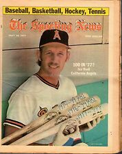 Sporting News 5/14/1977 Baseball magazine, Joe Rudi, California Angels