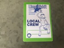 Limp Bizkit - Back to Basics 2000 - Local Crew Pass - Green