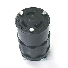NEW Leviton 2613-B Female Twist Lock Socket NEMA L5-30R, 30 Amp 125 Volt  2613B