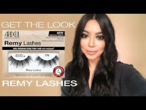 Ardell Remy Lashes, 100% Premium Remy Hair With Invisiband , Keratin Infused