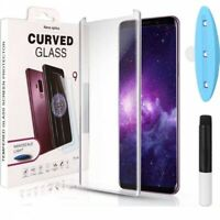 Protector Pantalla Cristal Templado Nano UV para Samsung Galaxy S9 Plus
