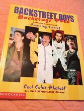 Backstreet Boys Backstage Pass Book A Photo Scrapbook An Unauthorized Album 1998