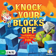 Knock Your Blocks Off Game by Gamewright NEW