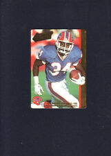 1992 Action Packed Thurman Thomas  BRAILLE VERSION  RARE    FREE SHIPPING !!