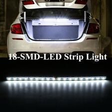 White 18-LED-SMD Strip Light For Car Trunk Cargo Area Interior Illumination 30cm