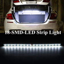 White 18-LED-SMD Strip Light For Car Trunk Cargo Area Interior Illumination 30cm