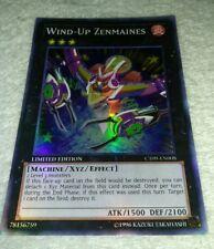 Yugioh! Wind-Up Zenmaines - CT09-EN008 - Super Rare - Limited Edition LP