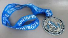 A NEW AWESOME 100 MILE CHALLENGE VIRTUAL RUNNING MEDAL JAN 2018