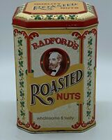 Vintage Collectible Hinged Tin Radfords Roasted Nuts